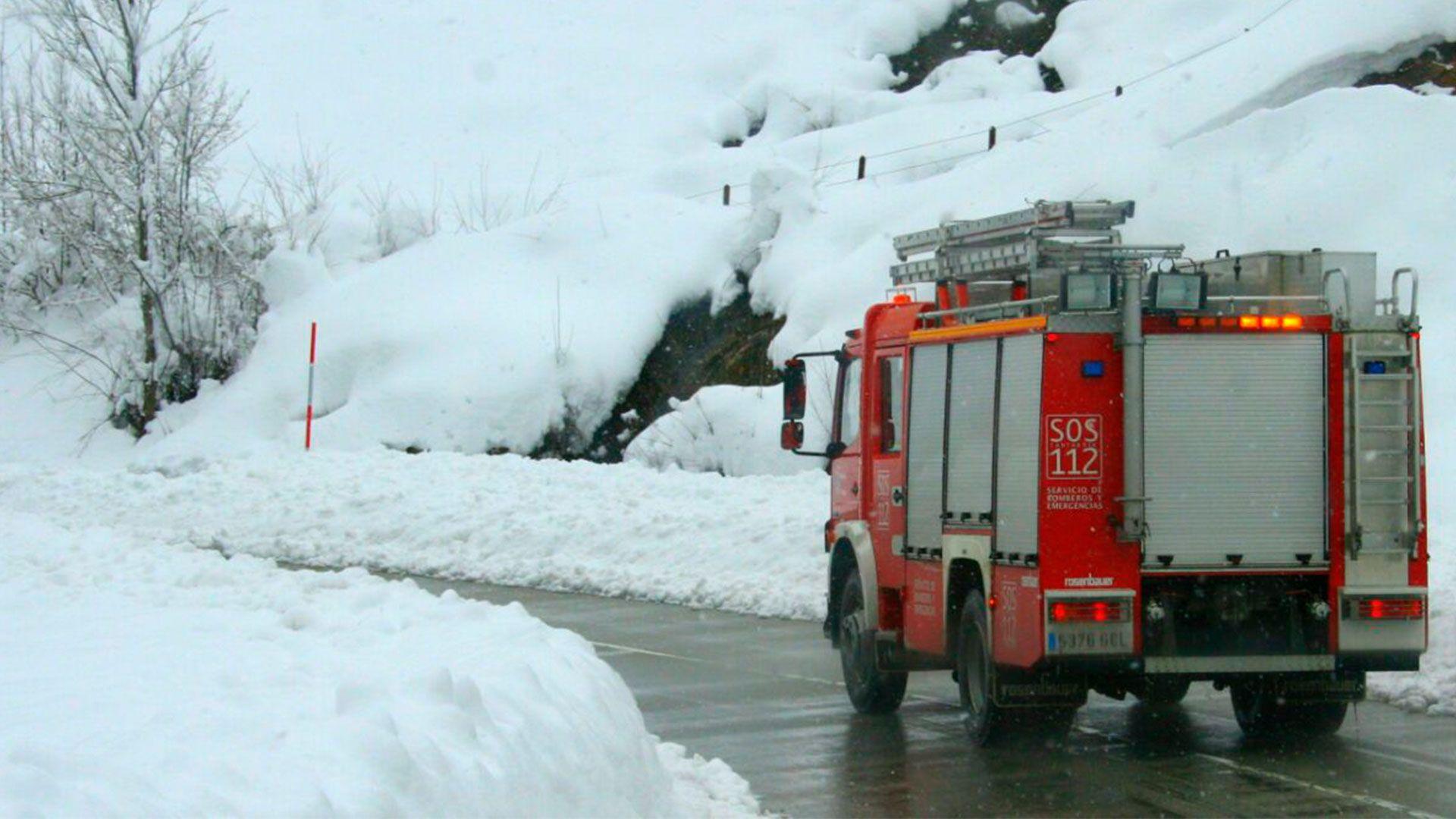 112 camion de bomberos