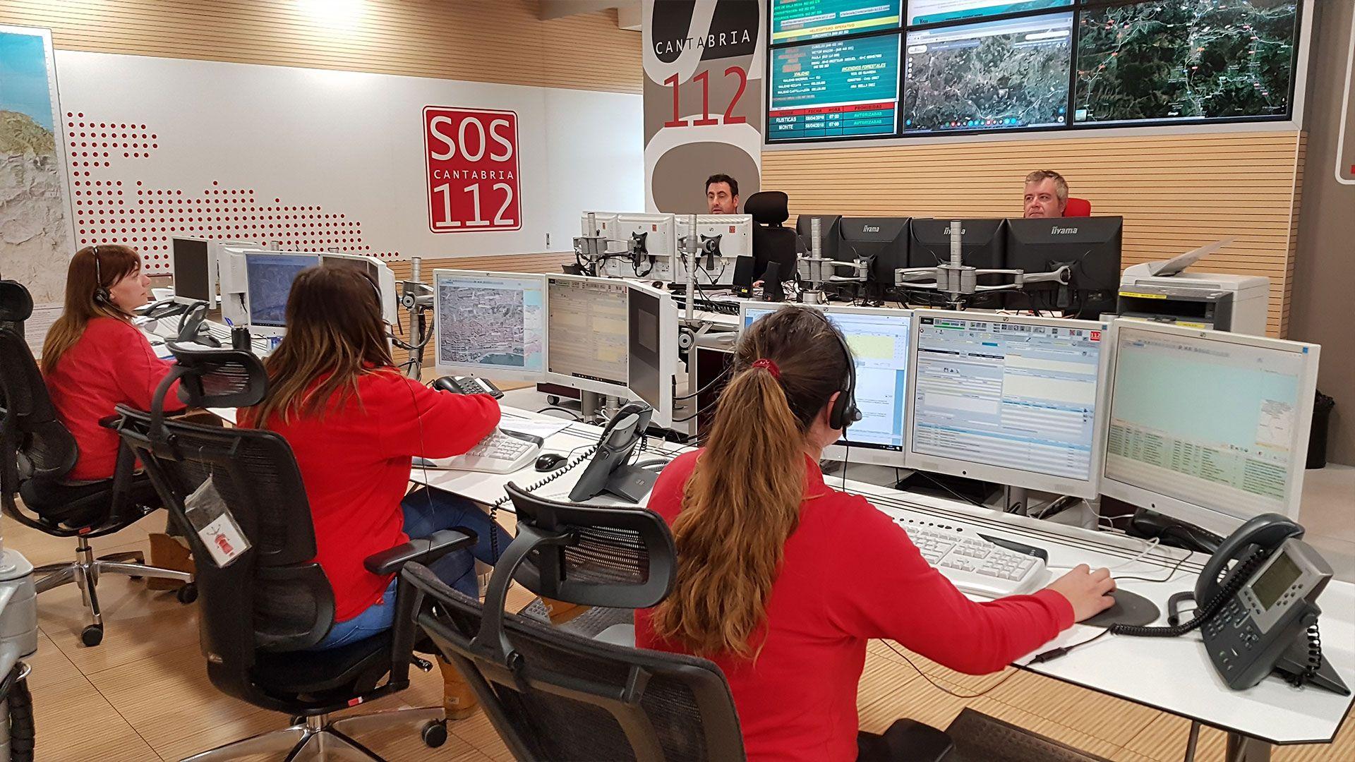 112 centro de emergencias de cantabria contacto