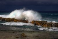 temporal en la mar